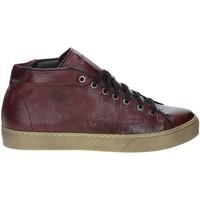 Zapatos Hombre Zapatillas altas Exton 481 Rojo