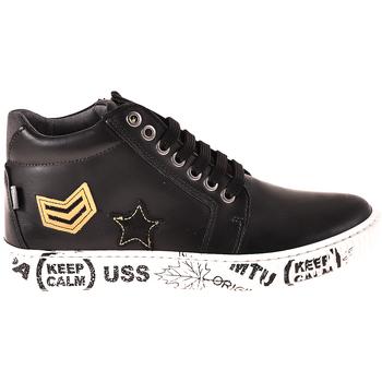 Zapatos Niños Zapatillas altas Melania ME6033F8I.A Negro