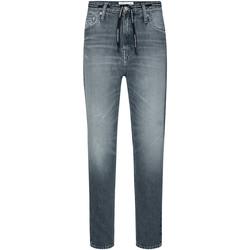 textil Mujer Vaqueros rectos Calvin Klein Jeans J20J213332 Gris