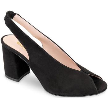 Zapatos Mujer Sandalias Valleverde 29201 Negro