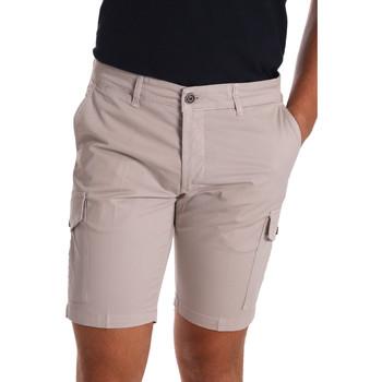 textil Hombre Shorts / Bermudas Sei3sei PZV130 7148 Beige
