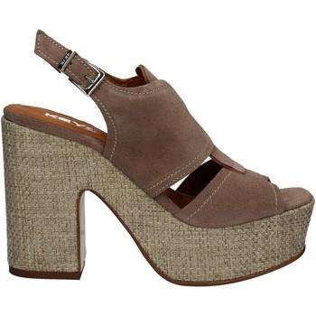 Zapatos Mujer Sandalias Keys 5263 Beige