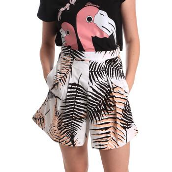 textil Mujer Shorts / Bermudas Fornarina BER1I88C97709 Blanco