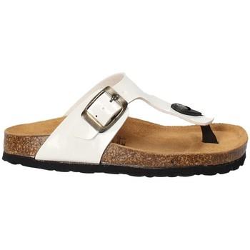 Zapatos Niños Chanclas Bamboo BAM-02 Blanco