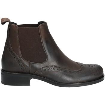 Zapatos Mujer Botas de caña baja Mally 4591 Marrón