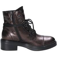 Zapatos Mujer Botas de caña baja Mally 6019 Rojo