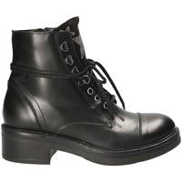 Zapatos Mujer Botas de caña baja Mally 6019 Negro