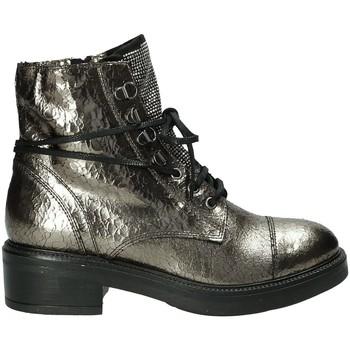 Zapatos Mujer Botas de caña baja Mally 6019M Gris