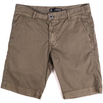 textil Hombre Shorts / Bermudas Key Up 2P17A 0001 Marrón