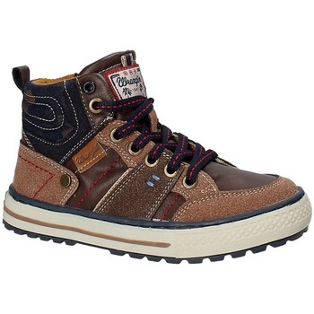 Zapatos Niños Senderismo Wrangler WJ17216 Marrón