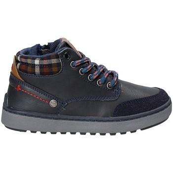 Zapatos Niños Senderismo Wrangler WJ17219 Azul