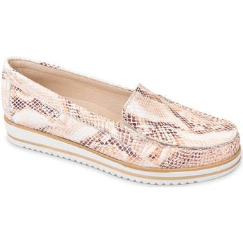 Zapatos Mujer Mocasín Valleverde 11108 Naranja