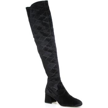 Zapatos Mujer Botas a la rodilla Apepazza SHR06 Negro