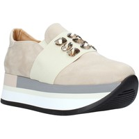 Zapatos Mujer Slip on Grace Shoes 331004 Beige