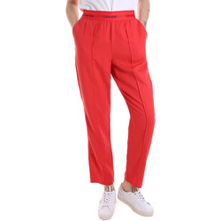 textil Mujer Pantalones de chándal Calvin Klein Jeans K20K201765 Rojo