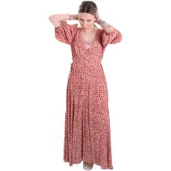 textil Mujer Vestidos largos Calvin Klein Jeans K20K201954 Rosado