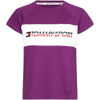 textil Mujer Camisetas manga corta Tommy Hilfiger S10S100331 Violeta