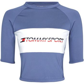 textil Mujer Camisetas manga corta Tommy Hilfiger S10S100397 Azul