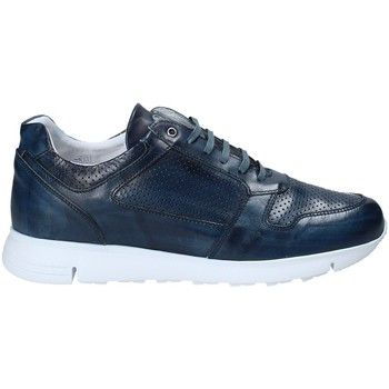 Zapatos Hombre Zapatillas bajas Exton 332 Azul