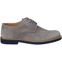 Zapatos Hombre Derbie Exton 9190 Gris