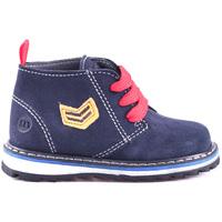 Zapatos Niños Botas de caña baja Melania ME1032B8I.B Azul