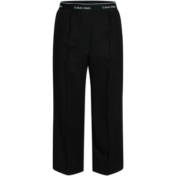 textil Mujer Pantalones fluidos Calvin Klein Jeans K20K201766 Negro