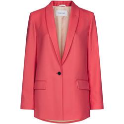 textil Mujer Chaquetas / Americana Calvin Klein Jeans K20K201774 Rosado