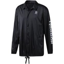 textil Hombre Cortaviento Reebok Sport DT8205 Negro