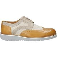 Zapatos Hombre Derbie Exton 5105 Beige