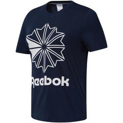 textil Mujer Camisetas manga corta Reebok Sport DT7222 Azul