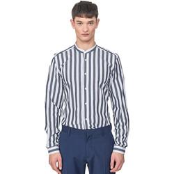 textil Hombre Camisas manga larga Antony Morato MMSL00604 FA420096 Azul