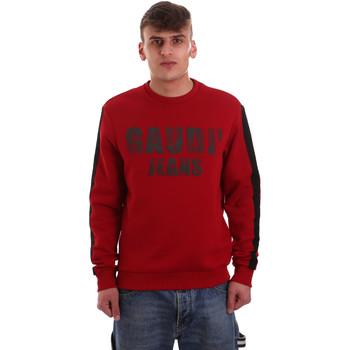 textil Hombre Sudaderas Gaudi 921BU64051 Rojo