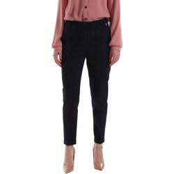 textil Mujer Pantalones chinos Gaudi 921BD25023 Azul