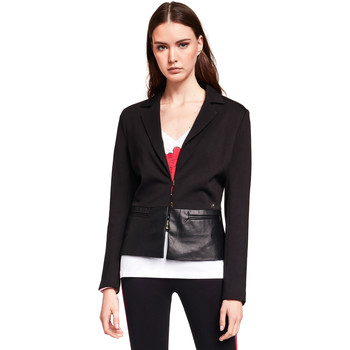 textil Mujer Chaquetas / Americana Gaudi 921BD34001 Negro