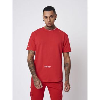 textil Hombre Camisetas manga corta Project X Paris  Rojo