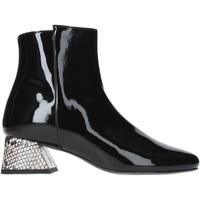 Zapatos Mujer Botines Pregunta PAA34-VP Negro