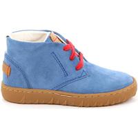Zapatos Niños Zapatillas altas Grunland PO1471 Azul