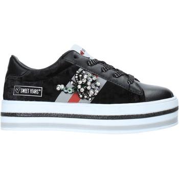Zapatos Niños Zapatillas bajas Sweet Years W19-SSK313 Negro