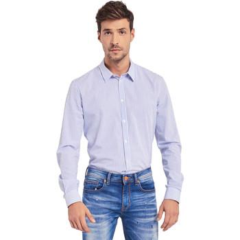 textil Hombre Camisas manga larga Gaudi 011BU45032 Blanco