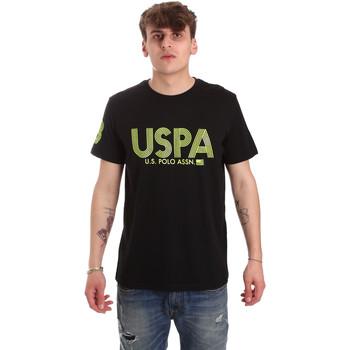 textil Hombre Camisetas manga corta U.S Polo Assn. 57197 49351 Negro