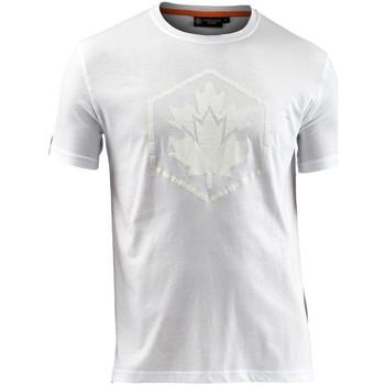 textil Hombre Camisetas manga corta Lumberjack CM60343 005 514 Blanco