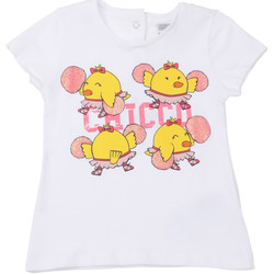 textil Niños Camisetas manga corta Chicco 09006955000000 Blanco