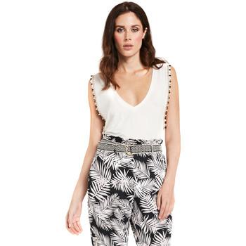 textil Mujer Tops / Blusas Gaudi 011FD64008 Blanco
