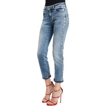 textil Mujer Vaqueros slim Denny Rose 011ND26009 Azul