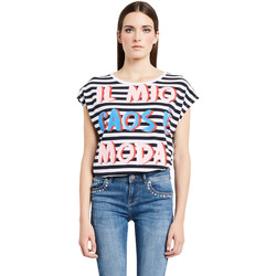 textil Mujer Camisetas manga corta Denny Rose 011ND64017 Blanco