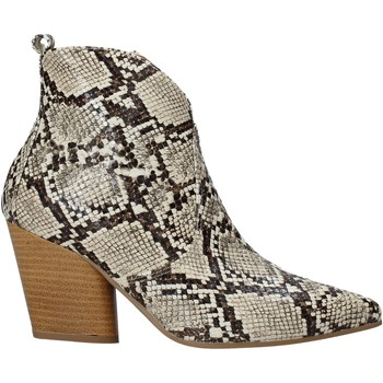 Zapatos Mujer Botines Grace Shoes 7241007 Beige
