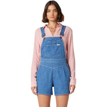 textil Mujer Monos / Petos Wrangler W22FJS72L Azul