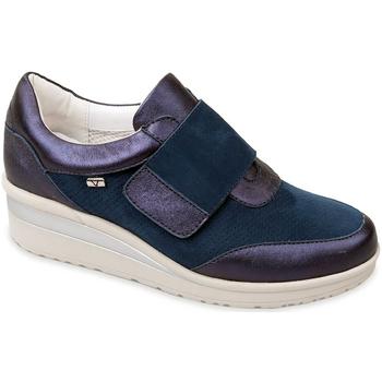 Zapatos Mujer Slip on Valleverde V20370 Azul