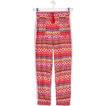 textil Niños Pantalones fluidos Losan 014-9014AL Rojo
