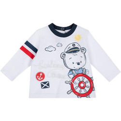 textil Niños Camisetas manga larga Chicco 09006877000000 Blanco